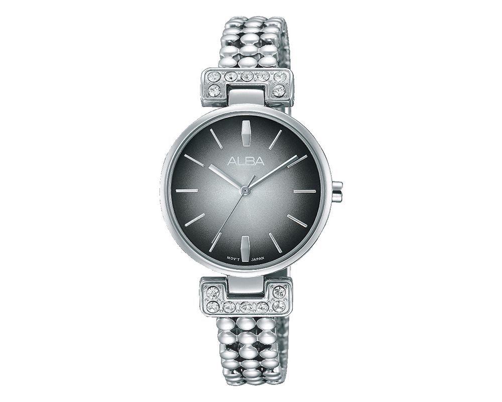 ALBA Ladies' Hand Watch Fashion Stainless Steel Band & Water Resistant AH8271X1