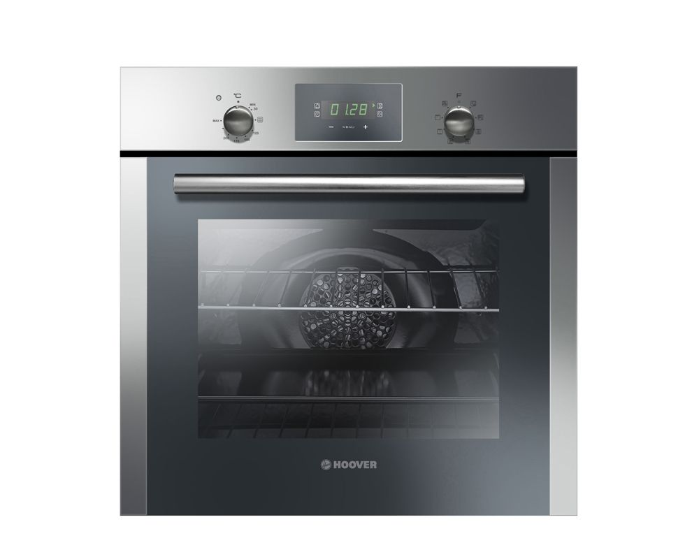 HOOVER Electric Oven 60cm Stainless Steel with Convection Fan and Grill HOC709/6X