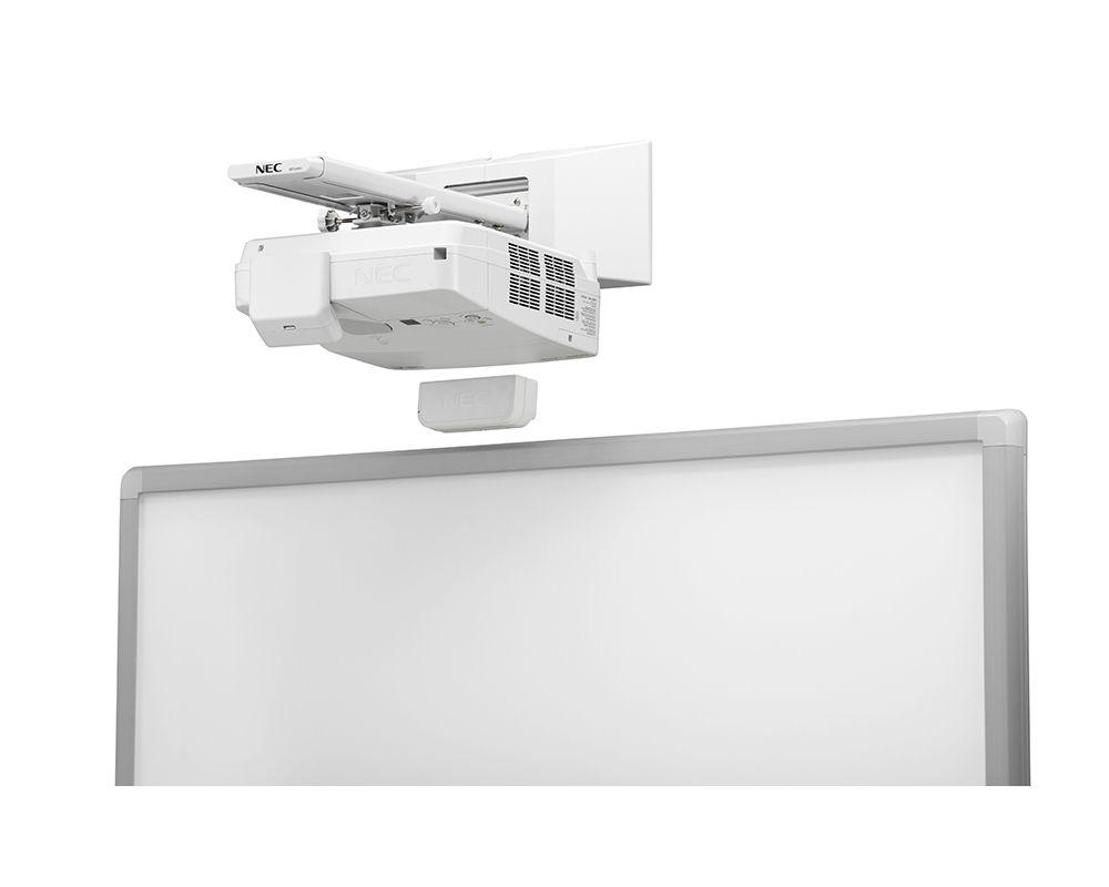 NEC-Interactive-Multi-Pen-Projector-UM351Wi-Top-Screen-Side