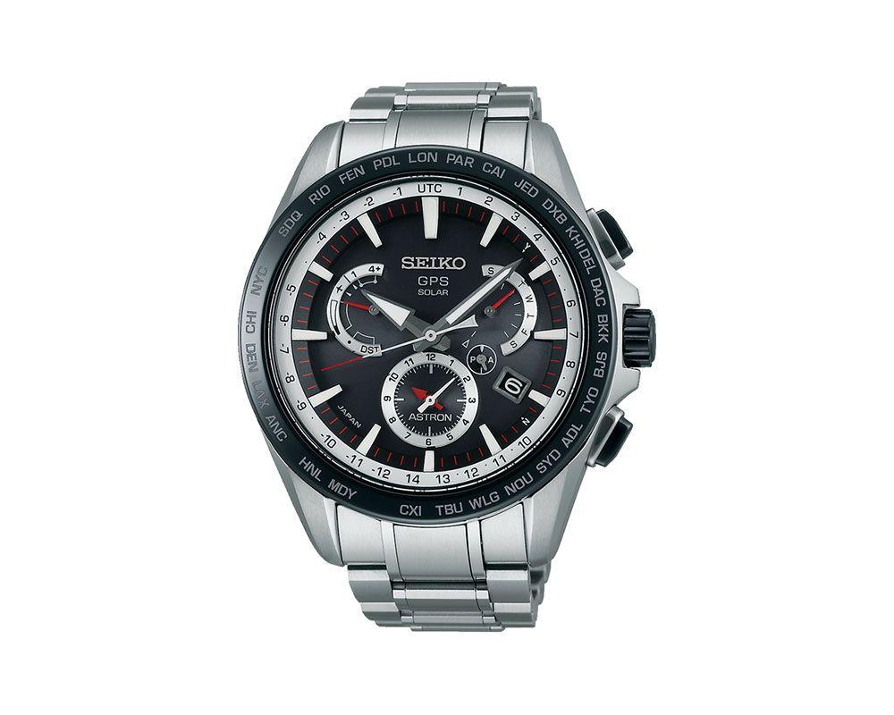 SEIKO Men's Hand Watch ASTRON Stainless Steel Bracelet SSE051J1