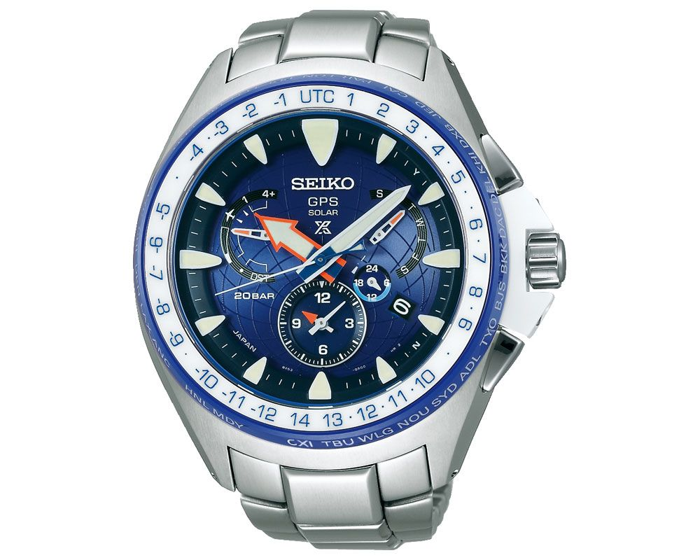 SEIKO Men's Prospex hand watch with titanium band & water resistant SSF001J1
