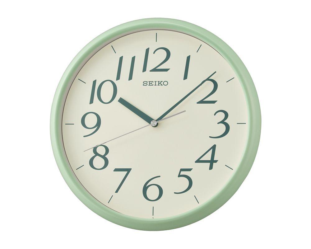 ساعة حائط سيكو برواز بلاستيك QXA719M