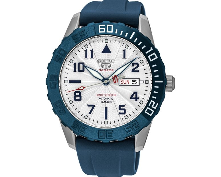 SEIKO Men's Automatic Hand Watch with rubber band & water resistant SRP785J1