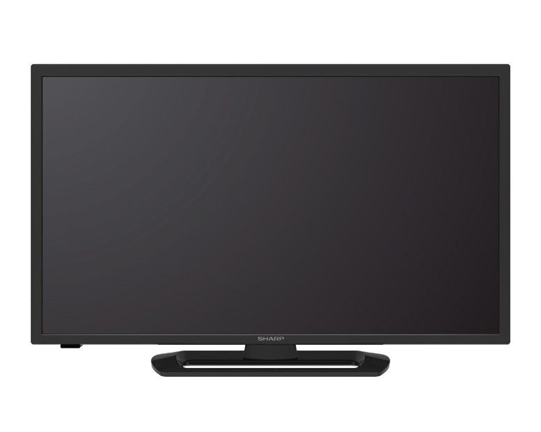 Sharp LED TV 32 Inch HD with 1 USB Movie & Black color LC-32LE265M