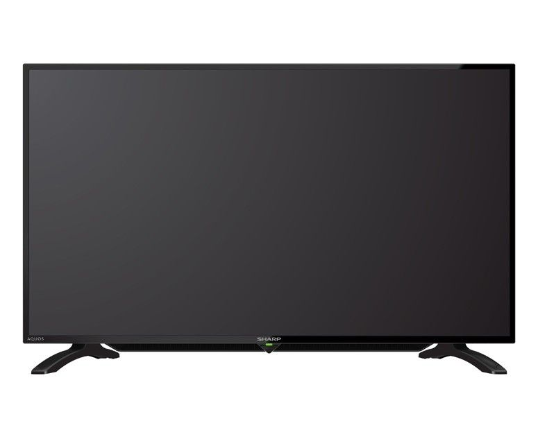 Sharp LED TV 40 Inch Full HD with 1 USB Movie & 2 HDMI Inputs LC-40LE2800X