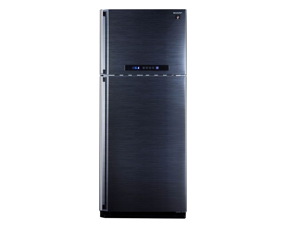 Sharp Refrigerator 450 Litre Digital 2 door Black color with Plasma Cluster SJ-PC58A(BK)
