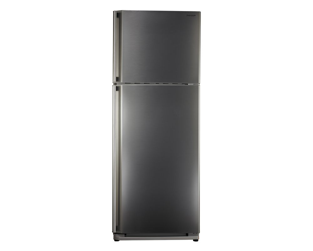 SHARP Refrigerator No Frost 450 Liter, 2 Doors In Stainless Color SJ-58C(ST)