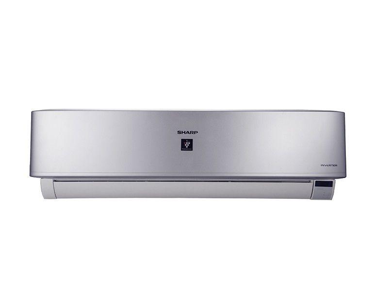 SHARP Split Air Conditioner 1.5HP Cool Inverter Digital, Plasmacluster, Silver AH-XP12UHE