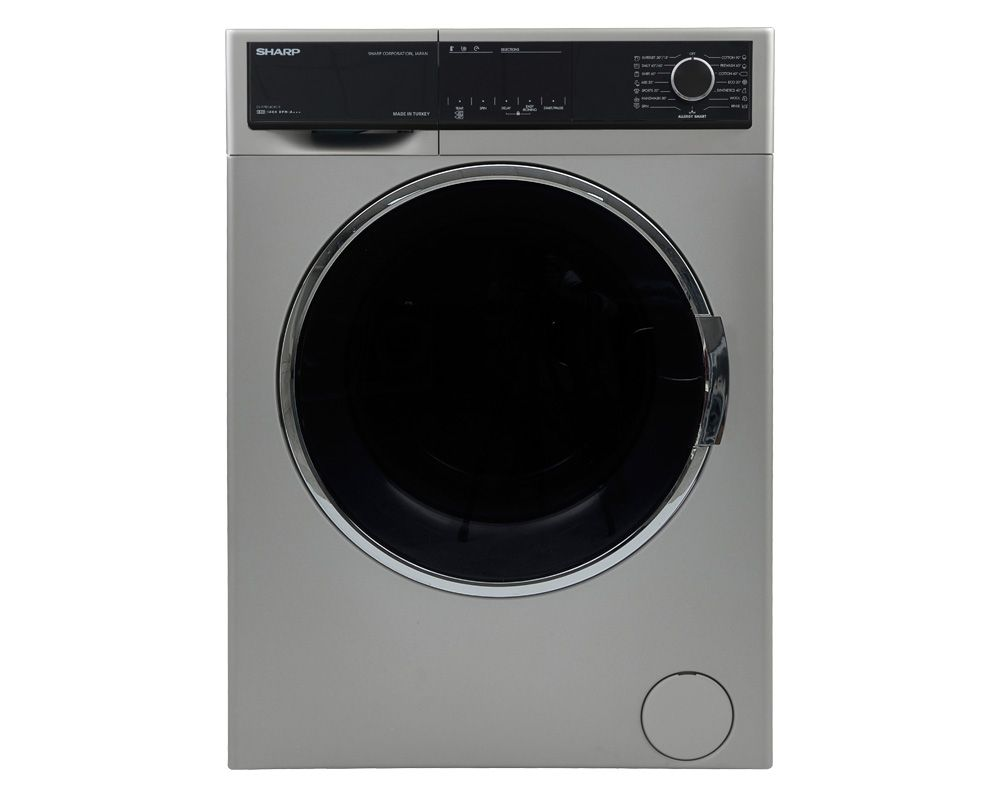 SHARP Washing Machine 8 Kg Fully Automatic In Silver Color ES-FP814CXE-S