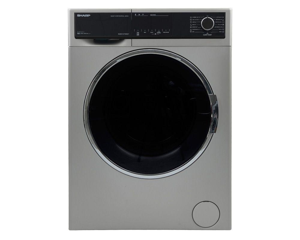 غسالة ملابس شارب فول أوتوماتيك 9 كيلو لون سيلفر ES-FP914CXE-S