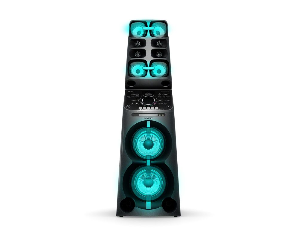 Sony Audio System MUTEKI High-Power with DVD Player and Bluetooth MHC-V90DW