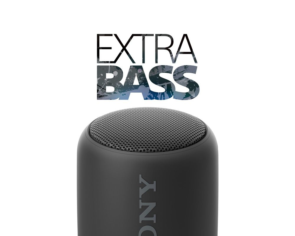 Sony Portable Wireless Bluetooth Speaker Water Resistant SRS-XB10/BC E