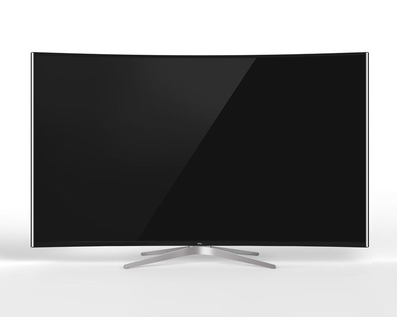 TCL Curved 4K Smart TV 55 Inch Ultra HD with Android 55C1S