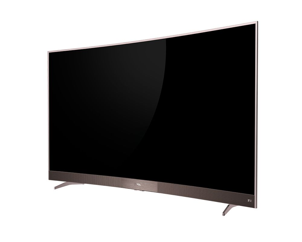 TCL Curved Smart TV 49 Inch Full HD LED Monitor with 3 HDMI and 2 USB Movie 49P3M