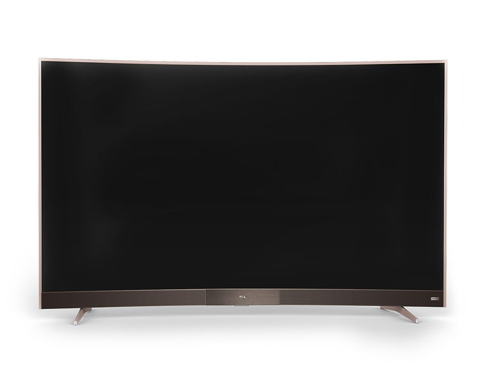 TCL 4K Curved Smart TV 55 Inch LED with 3 HDMI and 2 USB Movie 55P3M