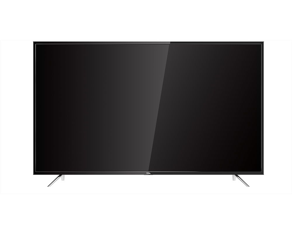 TCL 4K Smart LED TV 65 Inch with android & 2 USB and 3 HDMI 65P1