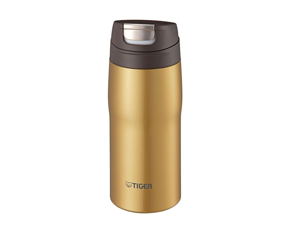 TIGER Stainless Steel Thermal Mug 0.36 Litre Capacity, In Gold Color MJC-A036