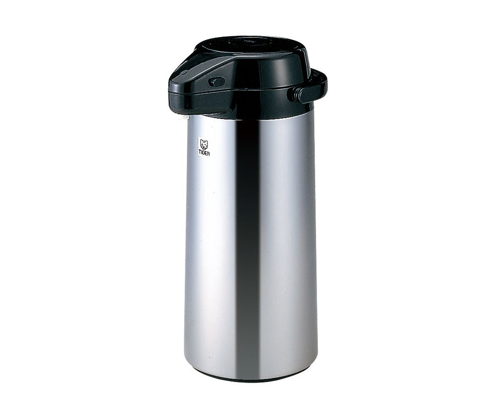 Tiger Stainless Steel Thermos 2.5 Litre Capacity, In Stainless x Black Color PXQ-2501