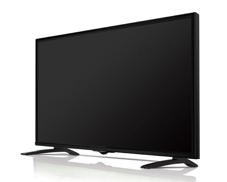 شاشة تورنيدو إل إي دي سمارت تي في 43 بوصة بمدخلين فلاشة 43ED4470NR Full HD