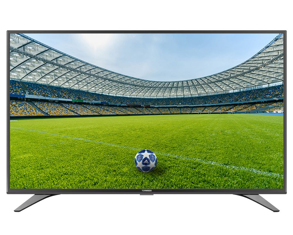 Tornado 32 Inch Smart LED TV HD With Built-in Receiver, 2 HDMI and 2 USB Inputs 32ES9500E