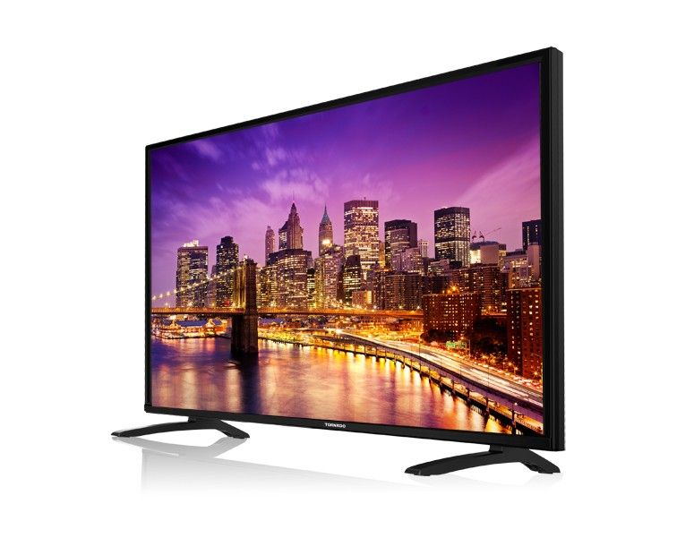 Tornado LED TV 55 Inch Full HD With 2 USB and 3 HDMI 55ED4460