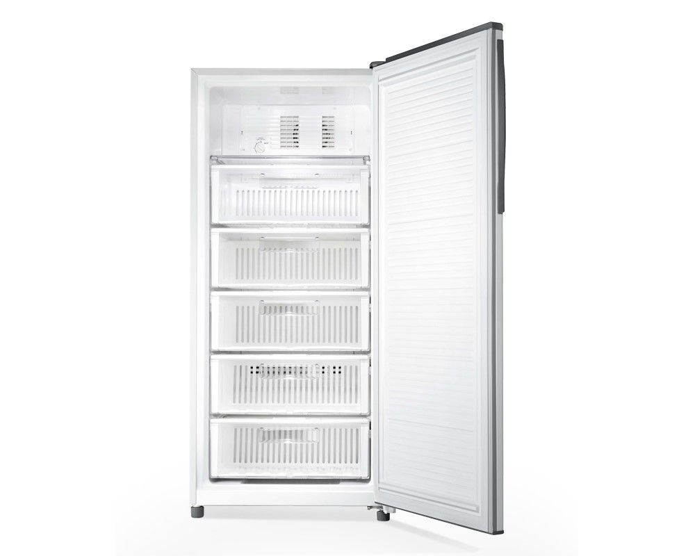 TOSHIBA Deep Freezer No Frost 5 Drawers, 223 Liter in White color with Quick freezing GF-22H-W