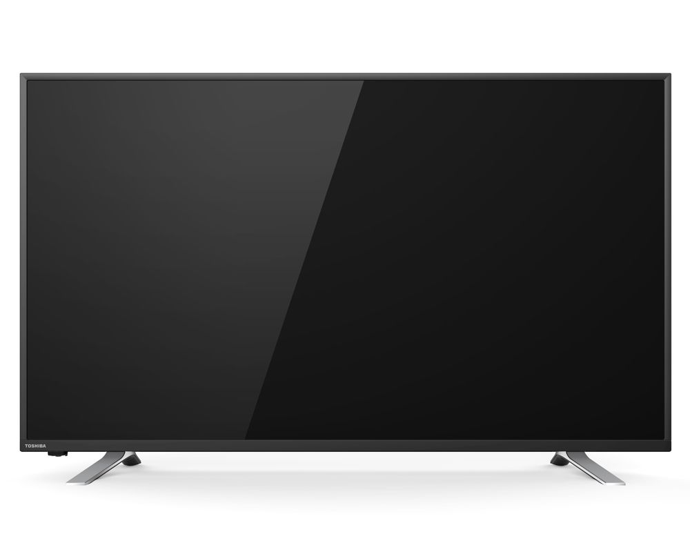 TOSHIBA 43 Inch LED TV Smart Full HD with Built in reciever, 2 HDMI and 2 USB Inputs 43L5865EA