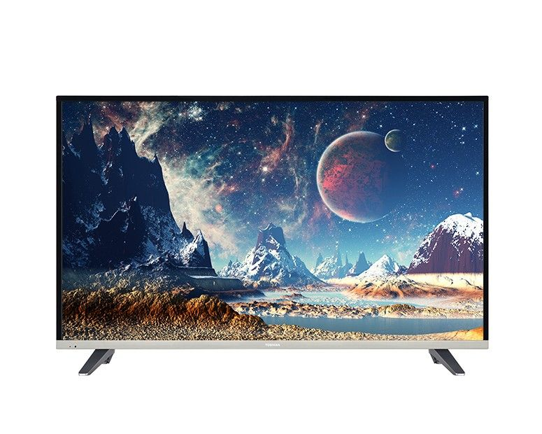 Toshiba LED TV 49 Inch Full HD with Built-in Receiver and 2 USB Movie 49L3660EA