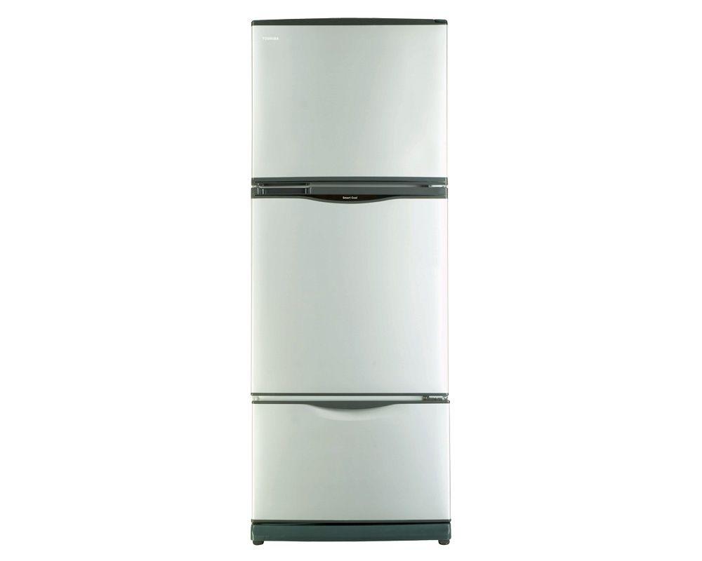 TOSHIBA Refrigerator No Frost 351 Liter, 3 Door In Silver Color GR-EFV45-S