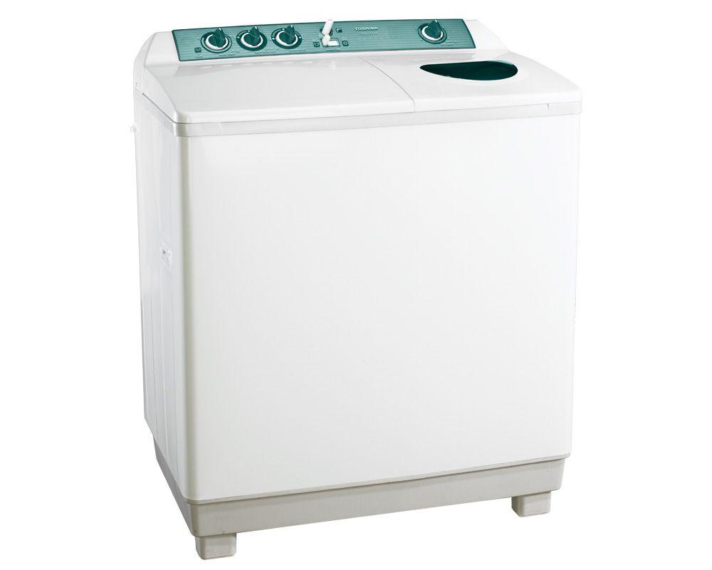 غسالة توشيبا هاف أوتوماتيك 10 كيلو لون أبيض مزودة بموتورين VH-1000S