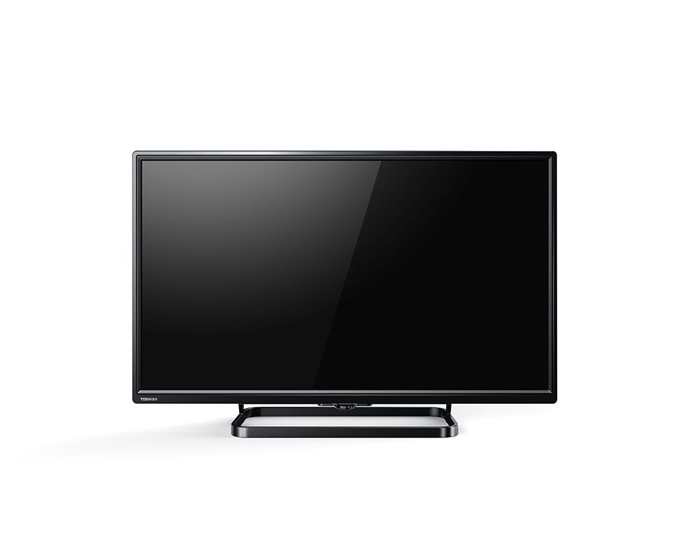 Toshiba LED TV 24 Inch HD with 1 USB and 2 HDMI Inputs 24S1600EE