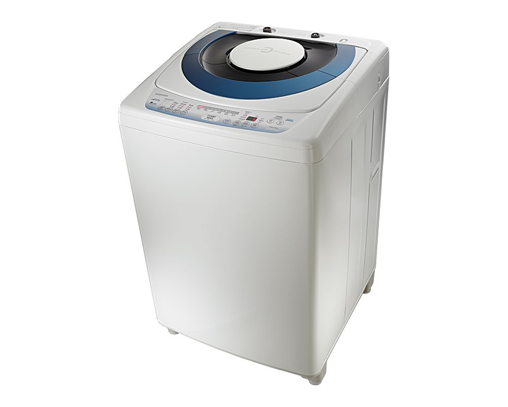 TOSHIBA Washing Machine Top Automatic 10 Kg In White Color With Pump AEW-9790SUP