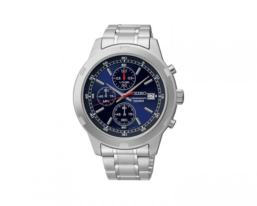 SEIKO Men's Chronograph Hand Watch with 1 year international warranty SKS419P1
