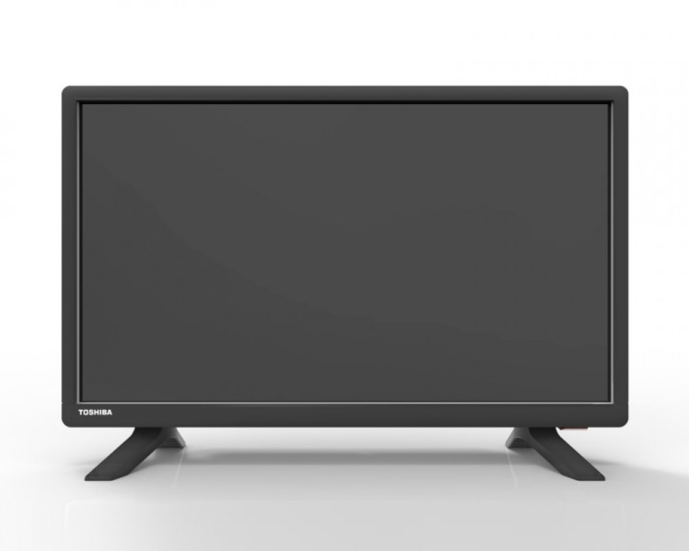 Toshiba LED TV 22 Inch Full HD with 1 USB and 1 HDMI Inputs 22S160MEA
