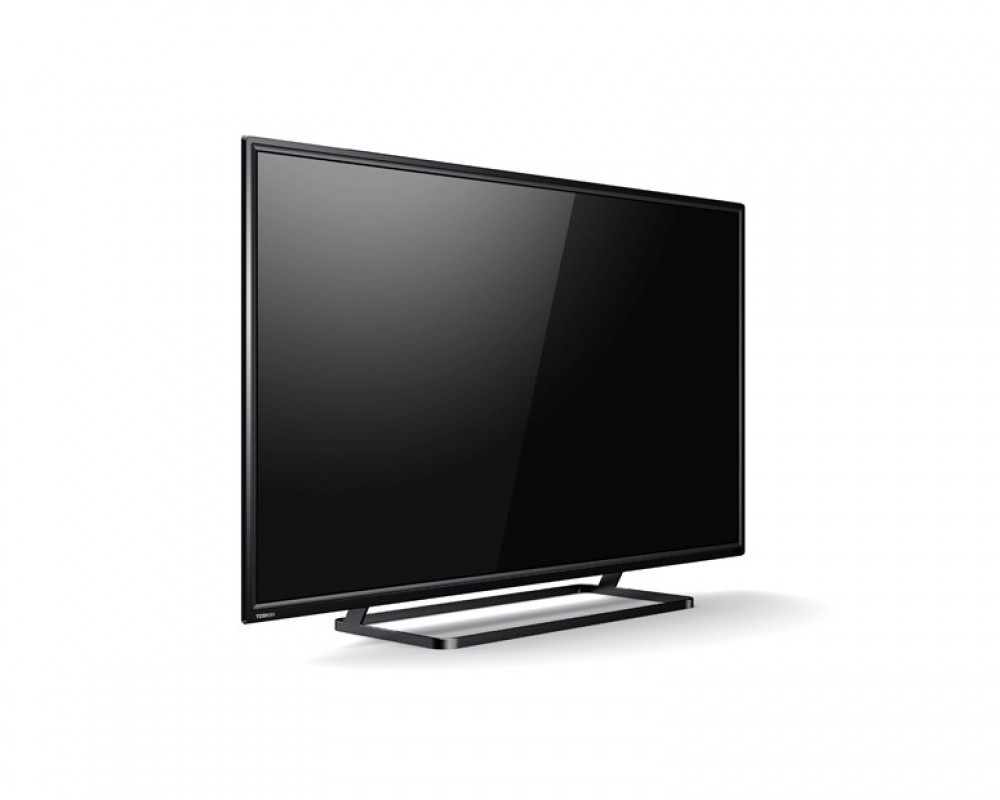 Toshiba LED TV 49 Inch Full HD with 2 USB Movie and 2 HDMI 49S2600EA
