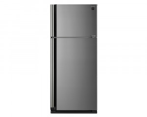 Sharp Refrigerator 642 Litre Inverter 2 Door with Plasma Cluster Silver color SJ-SE75D-SL