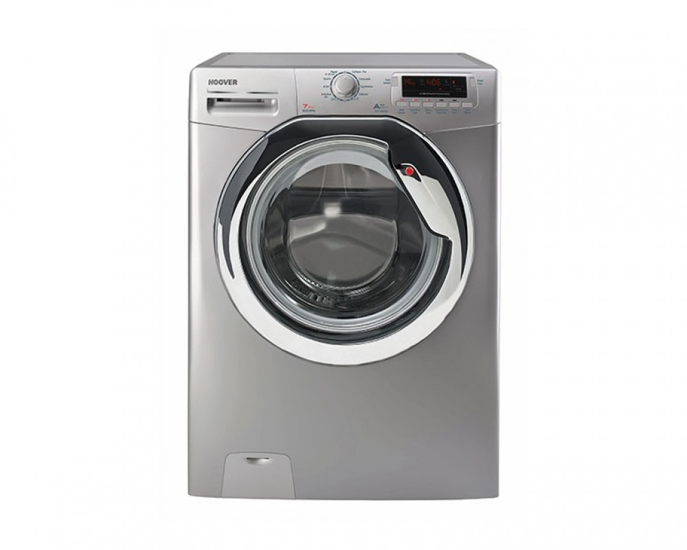 Hoover Washing Machine 7KG Fully Automatic Silver Color DYN7125DS2-EGY