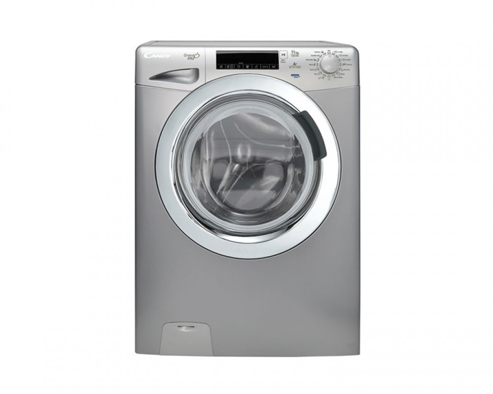 Candy Washing Machine 11Kg Fully Automatic Silver GV1311THCS1-EGY