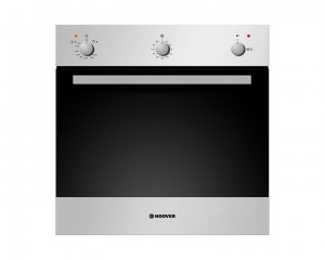HOOVER Gas Oven 60cm Stainless Steel with Grill and Cooling Fan HPG202/1XG