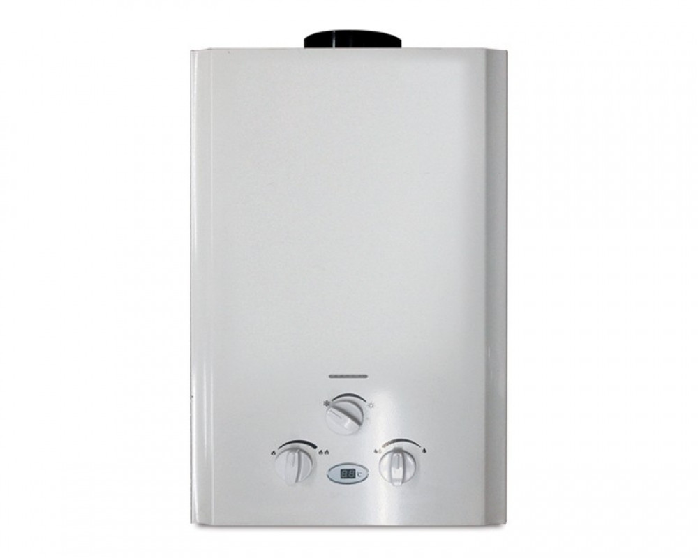 Tornado Gas Water Heater 10 Litre Digital White Color GHM-10TD