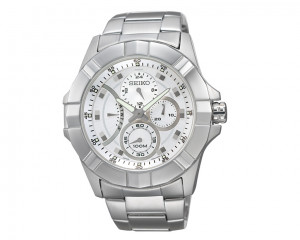 Seiko Men's Hand Watch Lord Stainless Steel Band & 1 Year Warranty SRL065J1