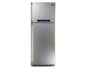 Sharp Refrigerator 450 Litre Digital 2 door Silver color with Plasma Cluster SJ-PC58A(SL)