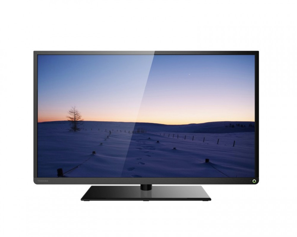 Toshiba LED TV 40 Inch Full HD With USB Movie And 2 HDMI 40S2500EA