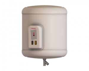 Tornado Electric Water Heater 35 Litre with LED Indicator in Off White color EHA-35TSM-F