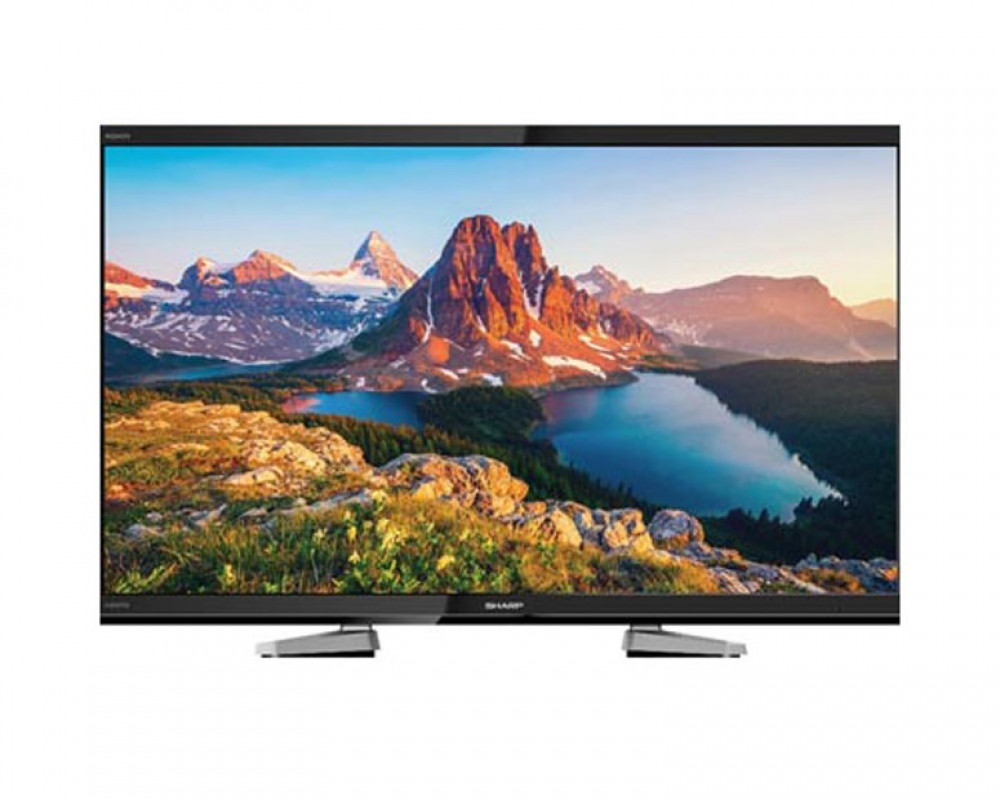 Sharp LED TV 40 Inch Full HD with Built-in Receiver & 1 USB LC-40LE458X