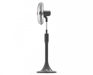 TORNADO Stand Fan 16 inch with 6 Hours timer & 4 Plastic Blades EFS-111T