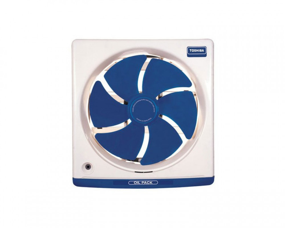 Toshiba Kitchen Ventilating Fan 25cm with Off White and Dark Blue Colors VRH25J10