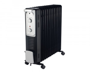 TORNADO Oil Heater 13 Fins 2800 Watt with Turbo Fan & 3 Heat Settings TOH-13F