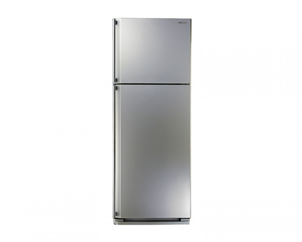 Sharp Refrigerator 449 Litre Silver Color & No frost with Ag+ Nano Deodorizer Filter SJ-58C(SL)