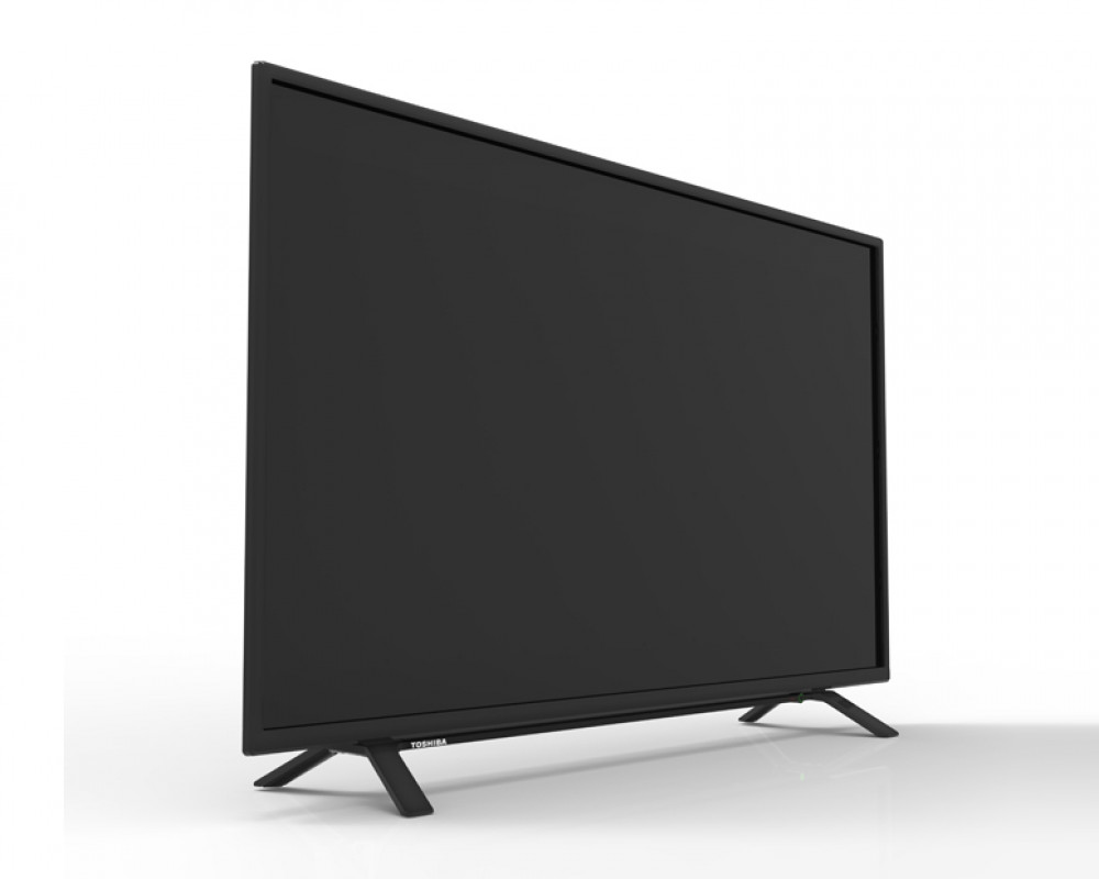 Toshiba LED Display TV 48 Inch Full HD with 2 USB and 3 HDMI Inputs 48L160MEA